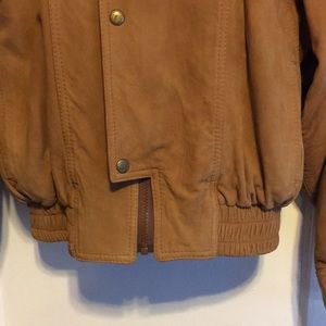 Vintage Jackets & Coats - Vintage Dolman sleeve leather Jacket
